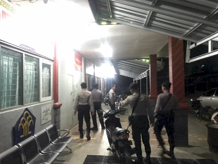 Menekan Angka Kriminalitas, Pleton Dalmas Kerap Berpatroli