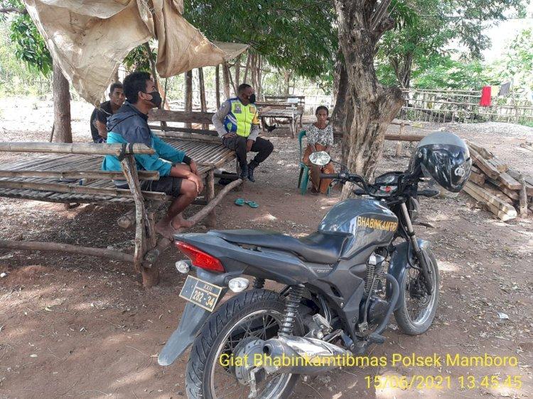 Himbauan Terkait Kamtibmas dan Protokol Kesehatan Selalu Menjadi Prioritas Habinkamtibmas