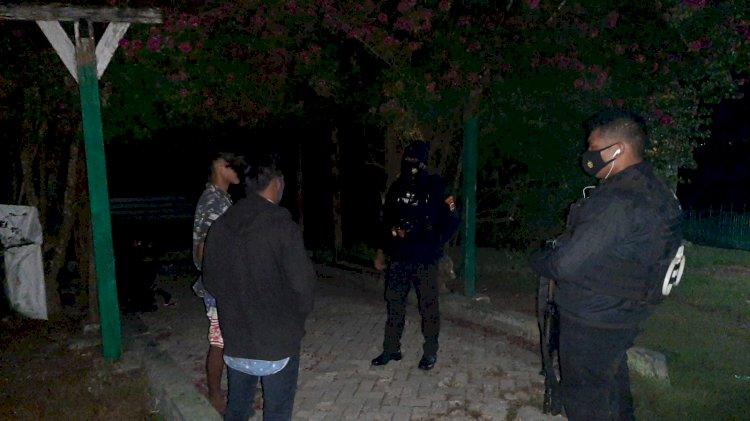Antisipasi Kejahatan Di Malam Hari, Tim Raimas Pasola Gelar Patroli